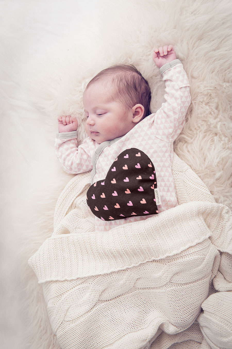 Heart Comfort Cushion For Babies